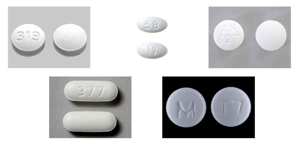 end addiction to tramadol picture of tramadol pills with different numbers stamped into each one 319, tv 58, 377, an 627, m t7