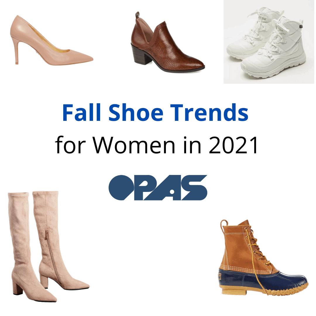 Fall Shoe Trends for Women in 2021