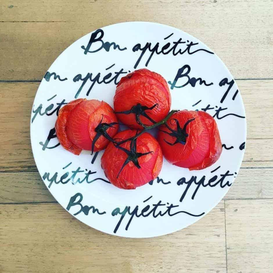 Roast Tomatoes And Lycopene