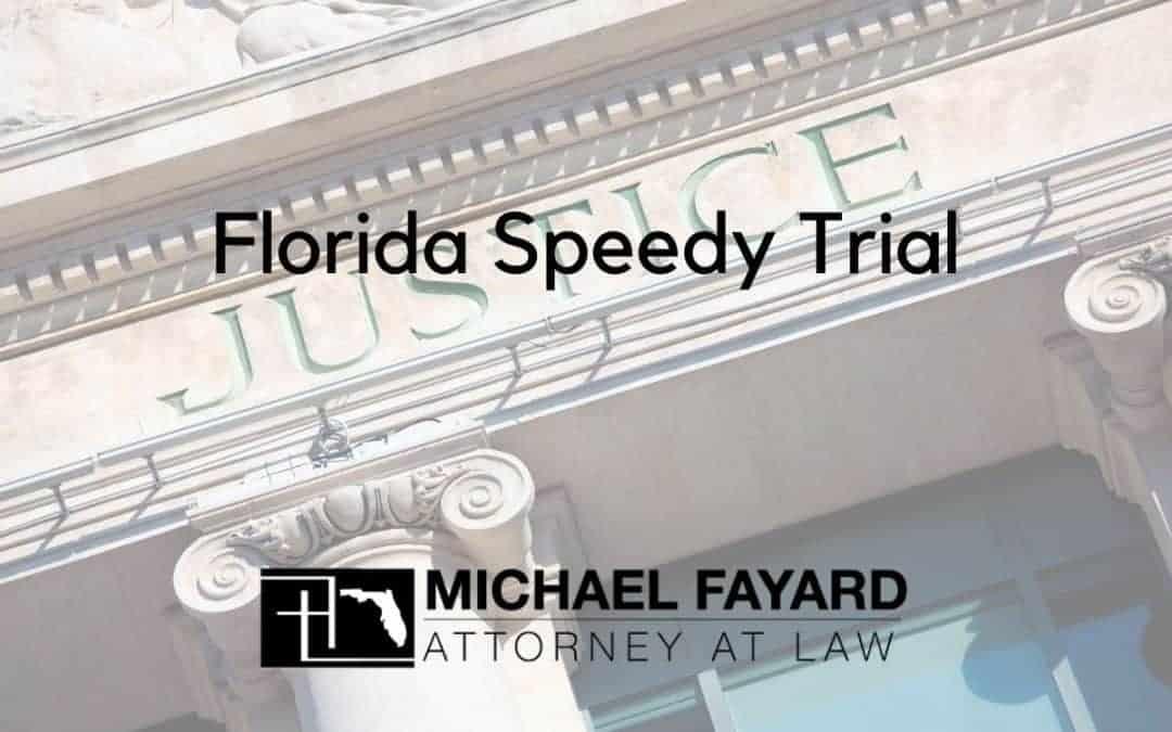 florida speedy trial attorney in sarasota florida