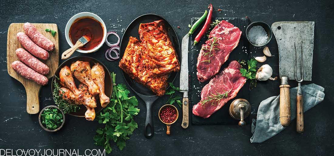 Мясные продукты для гриля и барбекю