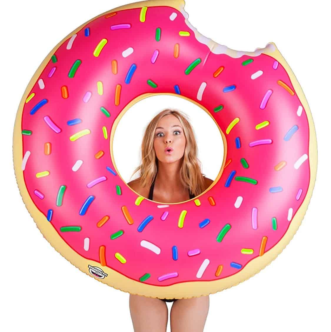 BigMouth Giant Doughnut Pool Float
