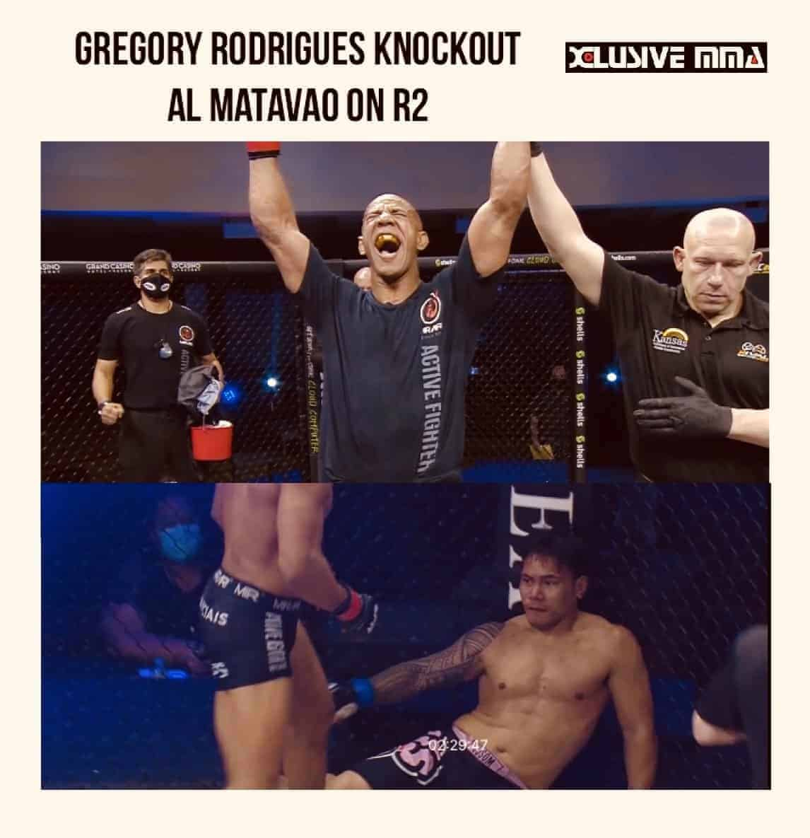 Gregory Rodrigues destroy Al Matavao on second round