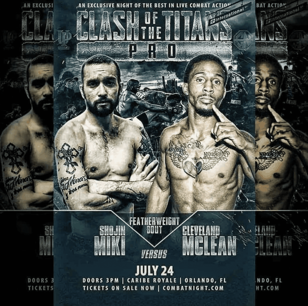 Shojin Miki upcoming bout against Cleveland Mclean