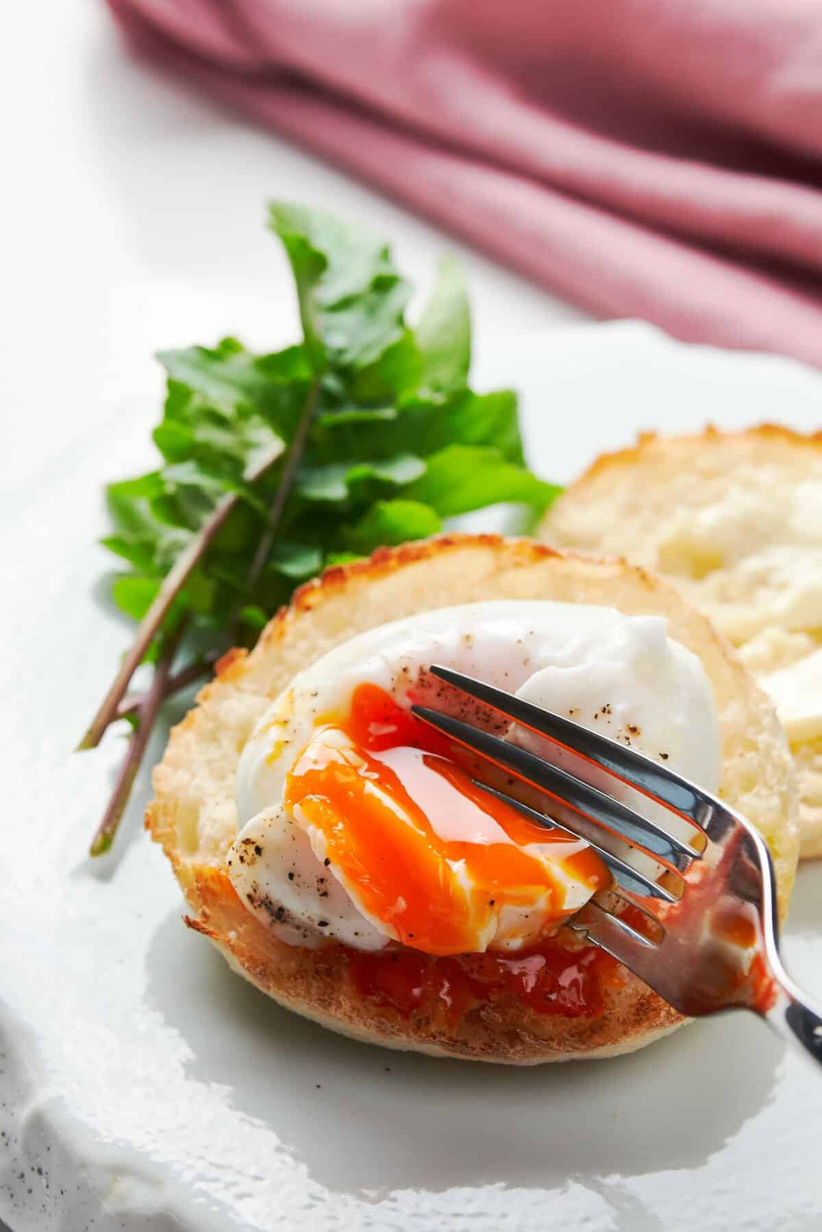 In this poached egg recipe, I cover the three most common mistakes people make when poaching eggs, and how to avoid them to get perfect poached eggs every time.
