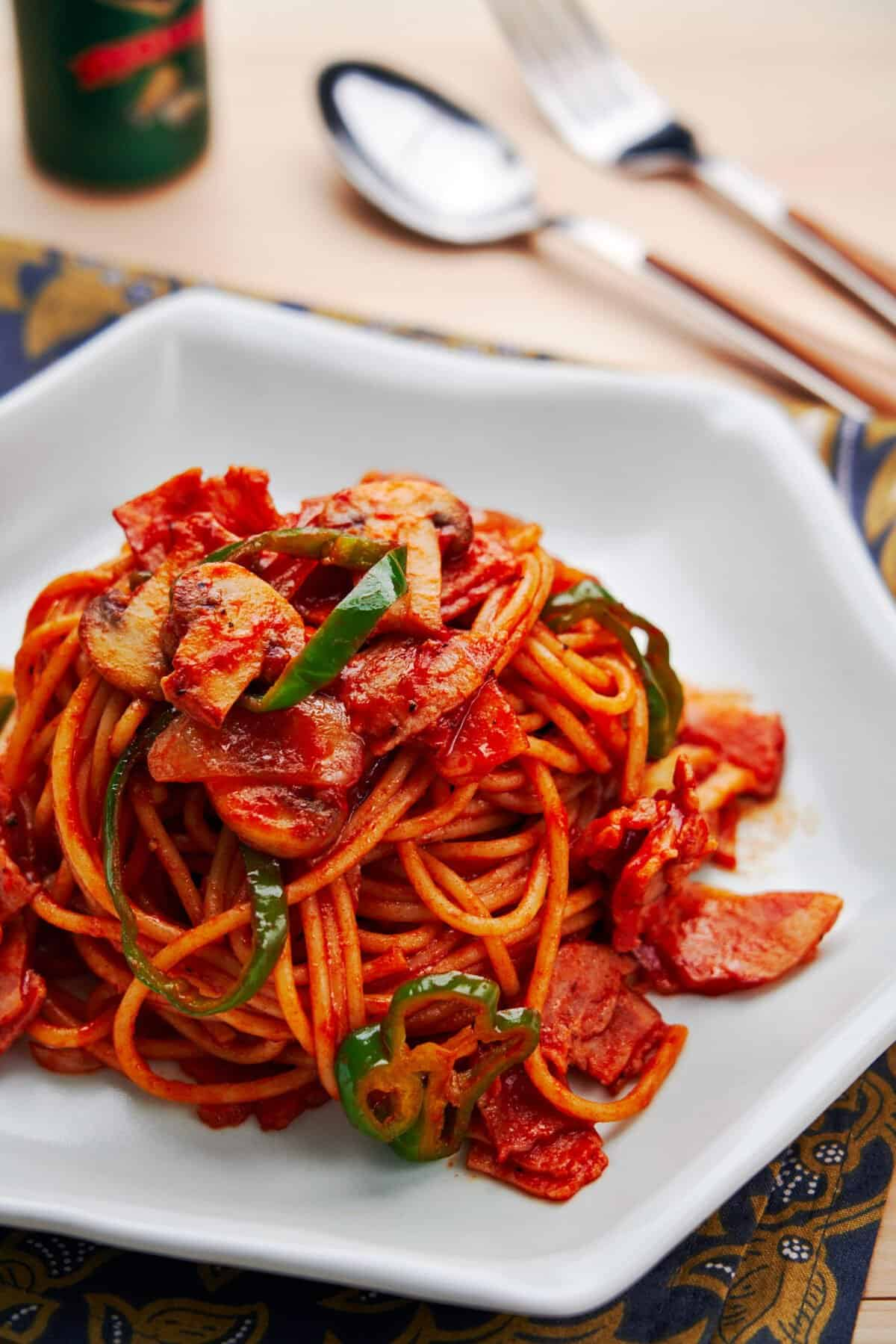 The main ingredient may surprise you, but Spaghetti Napolitan is an easy Japanese-style pasta that comes together from just a handful of pantry staples.