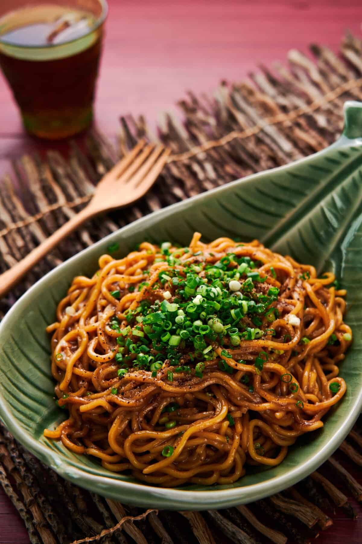 With a trifecta of fresh garlic, caramelized garlic, and black garlic, this easy garlic noodle recipe is mind-blowingly good.