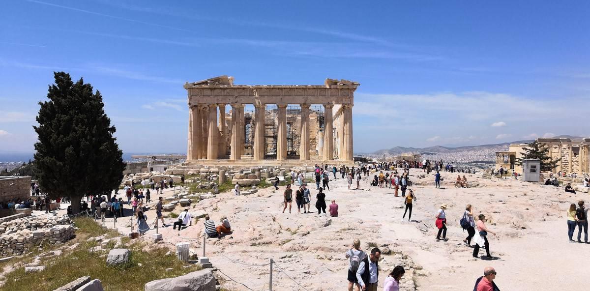 Akropolis - Wahrzeichen von Athen