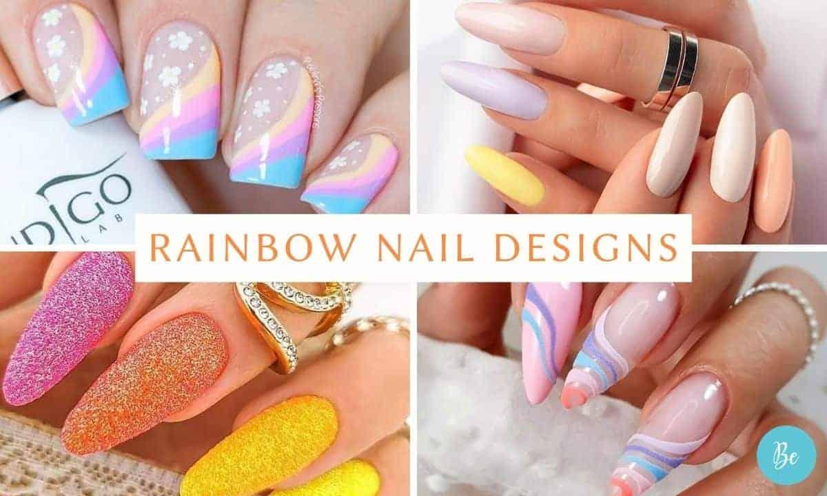 Trending Rainbow Nail Designs