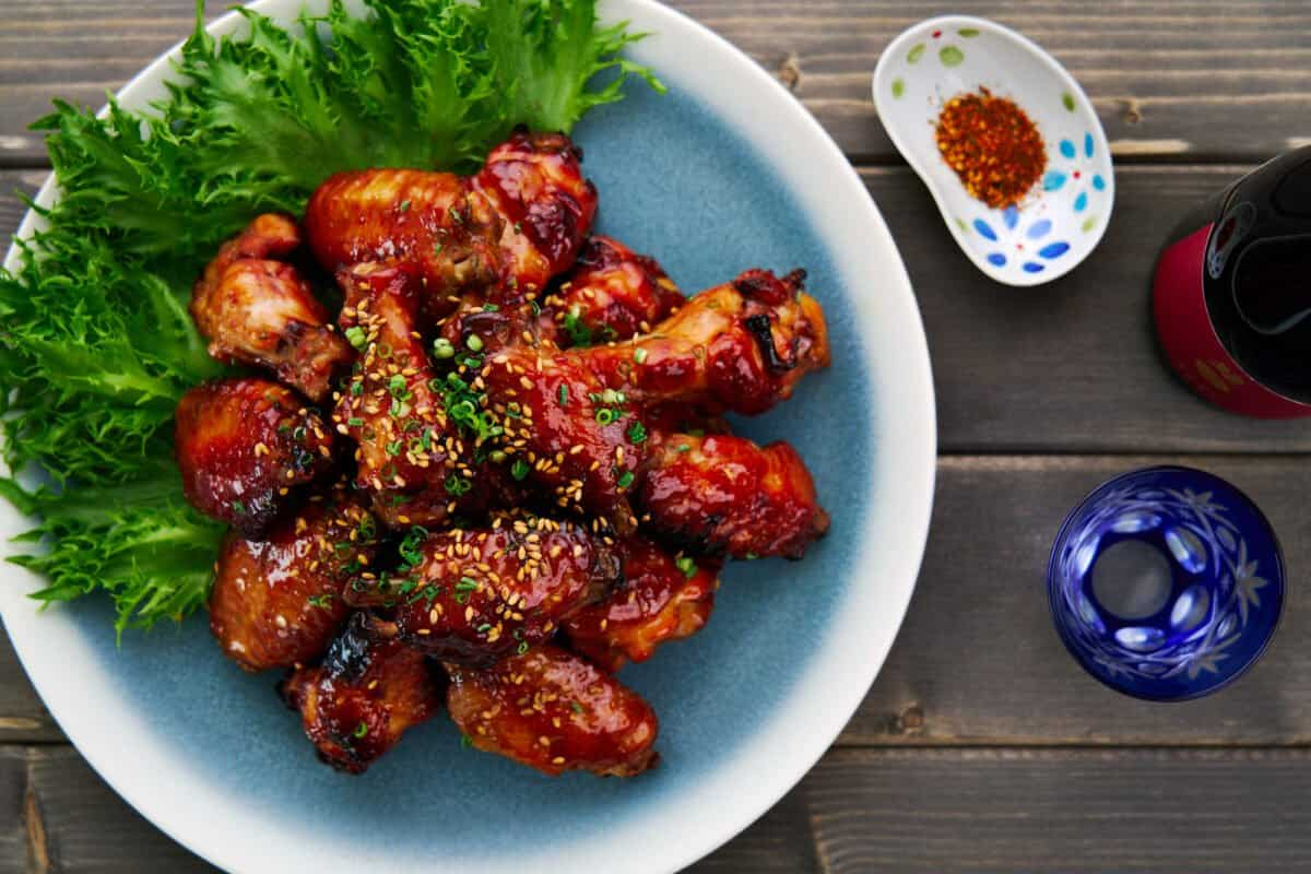 The gloriously glossy game-day teriyaki chicken wings are always a crowd-pleaser, and they can be put together in under half an hour from a handful of ingredients.