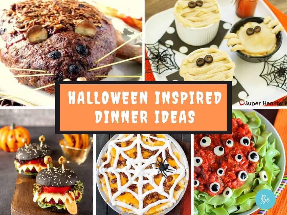 15 Halloween inspired Dinner Ideas