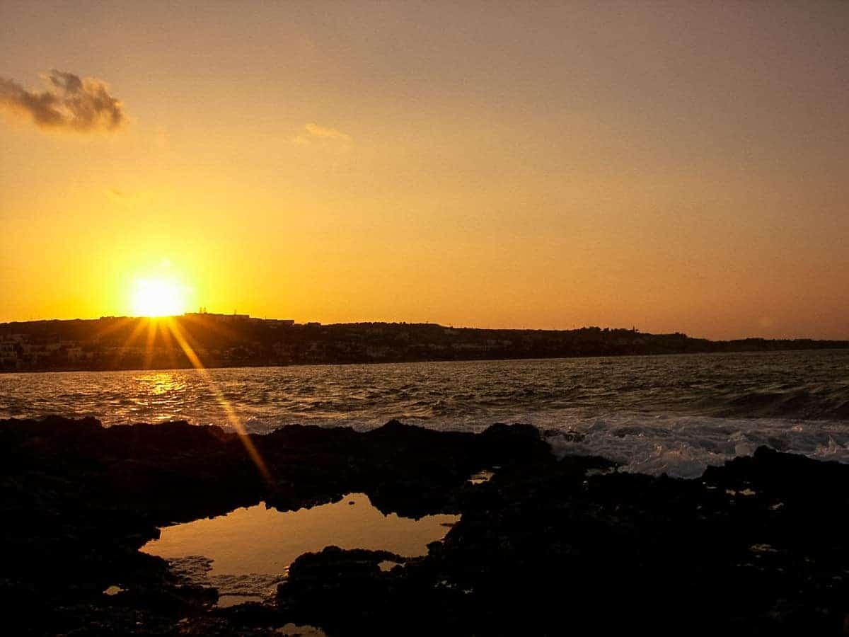 Sonnenuntergang auf Kreta