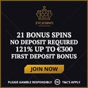 21Casino 21 free spins no deposit and 121% up tp €300 welcome bonus