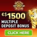 Golden Tiger Casino $1500 free bonus and free spins
