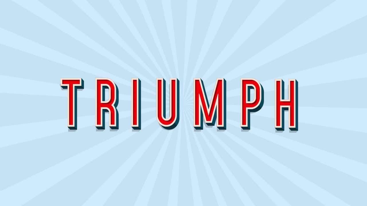 TRIUMPH - Crow Hero Banner Animation