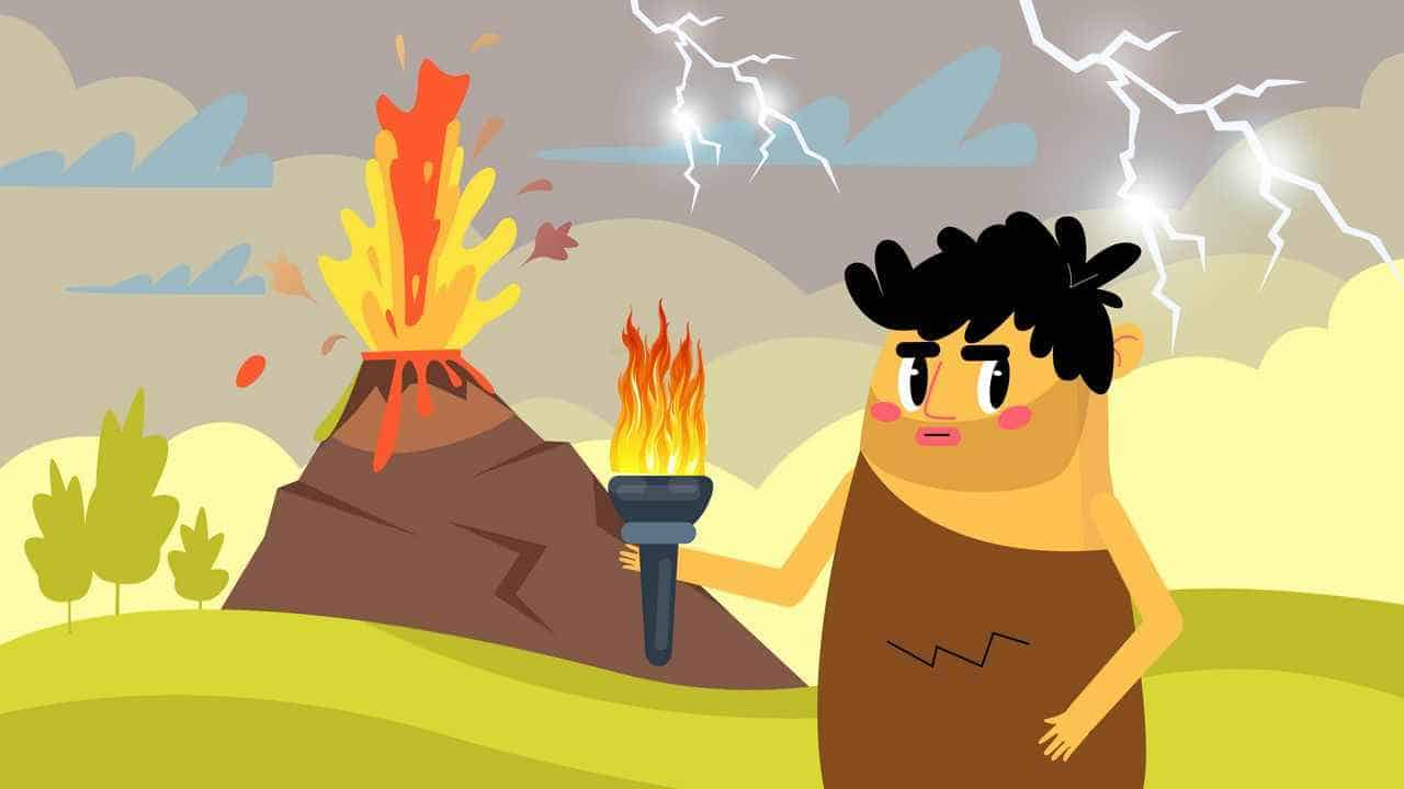 Volcano in the Weather Bug Educational Video