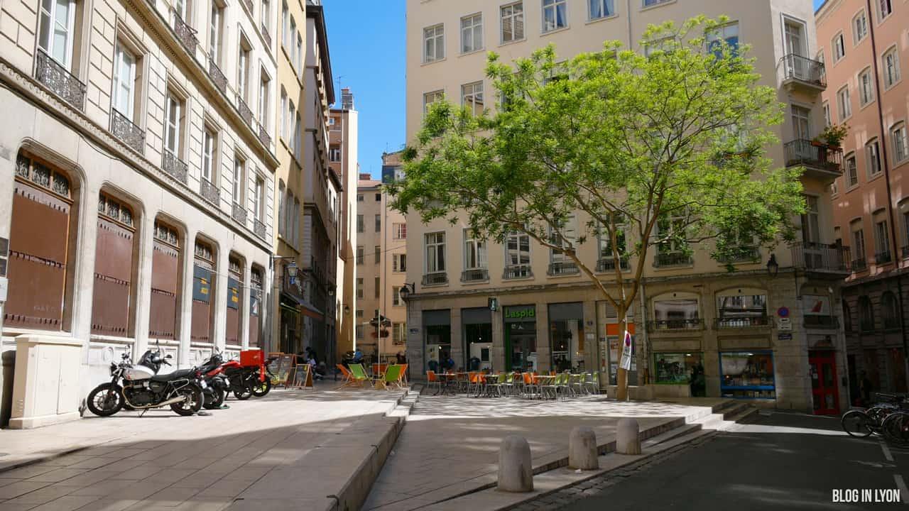 Visiter Lyon - Place du Griffon | Blog In Lyon
