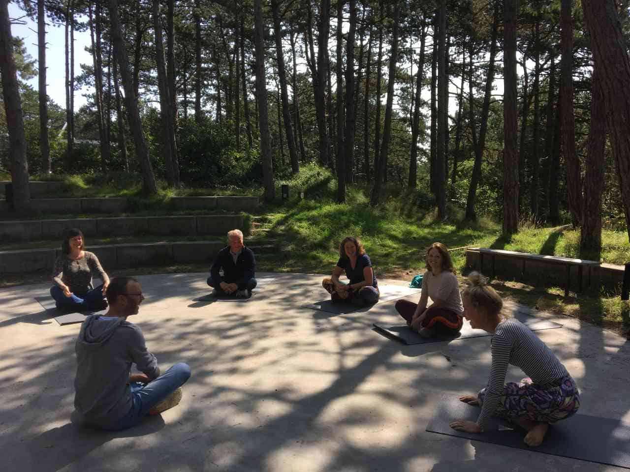 Mindfulness retraite aug 2021 Terschelling