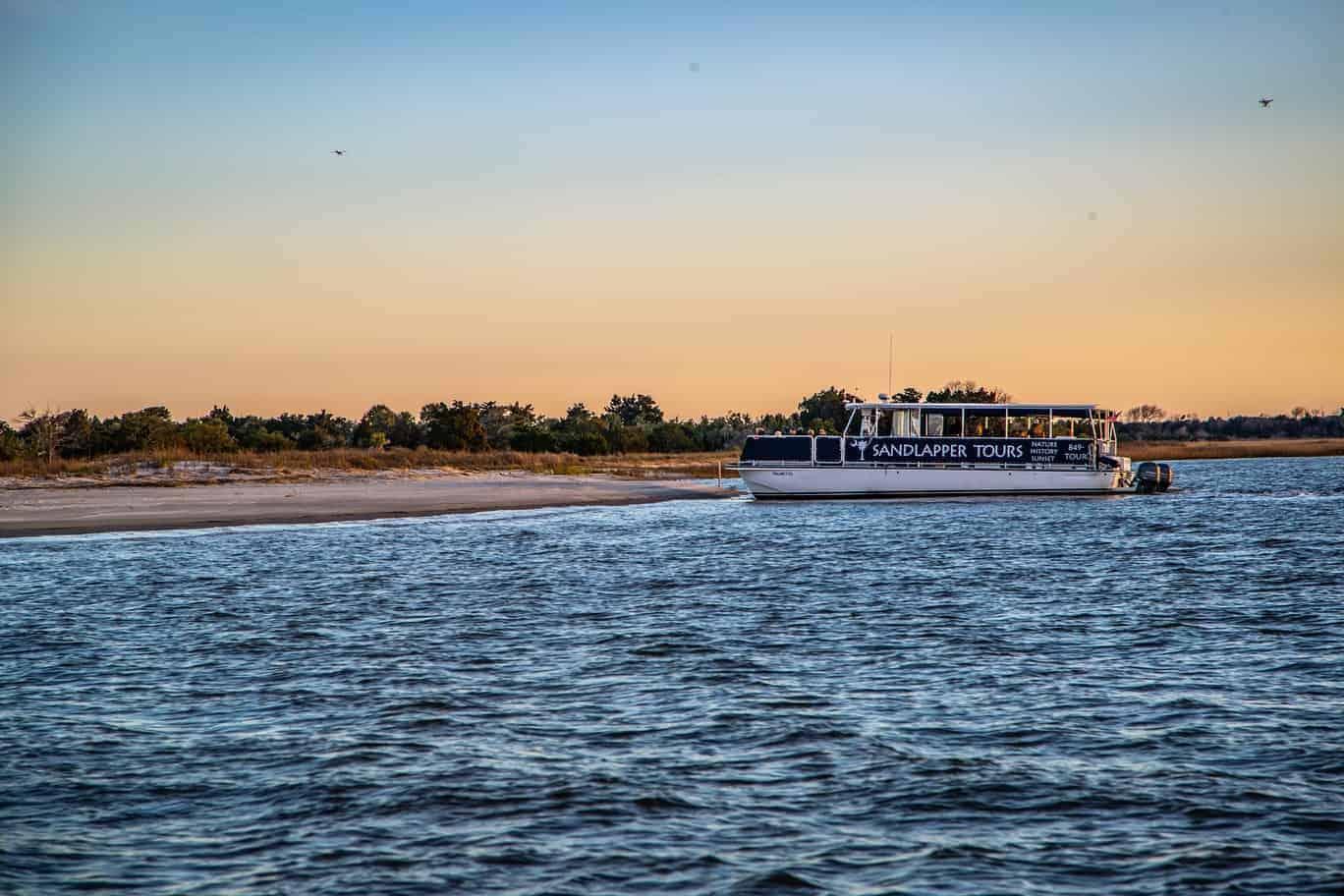 Sandlapper Tour Boat Charleston