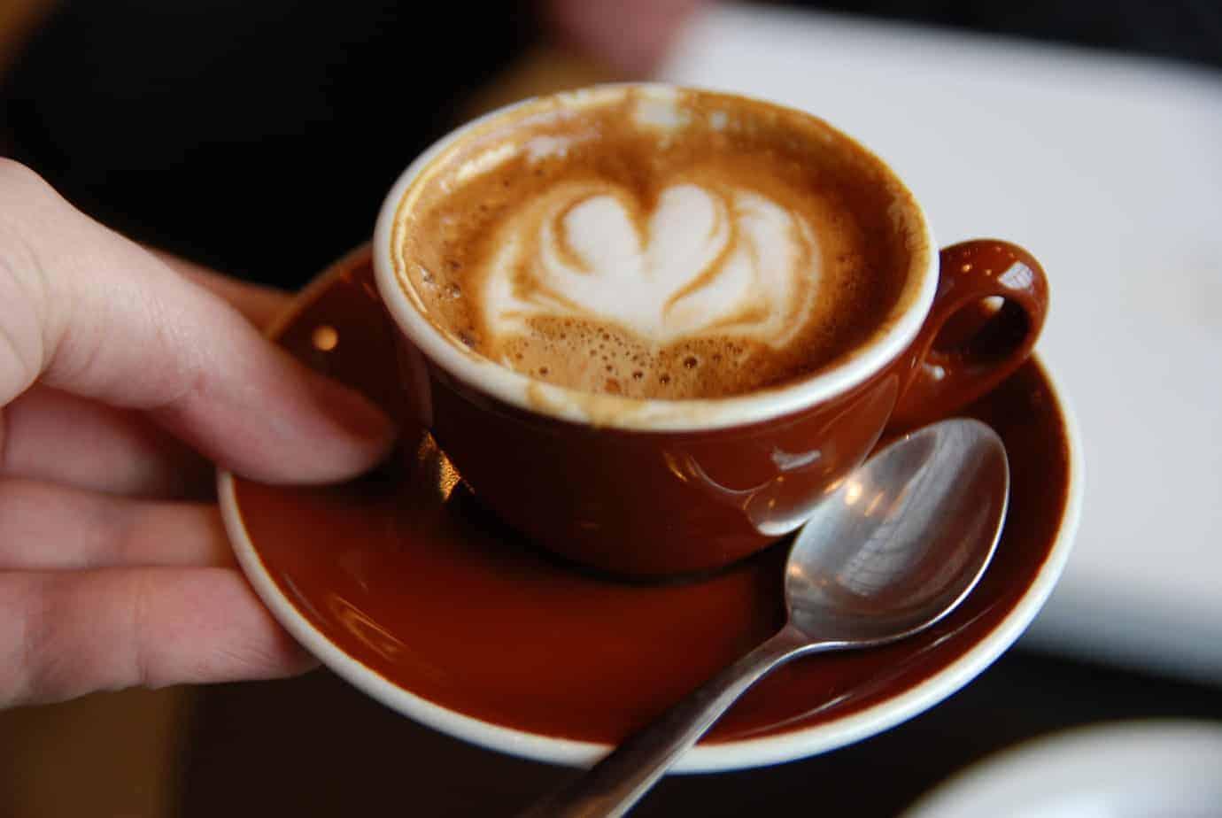 A macchiato from Stumptown Coffee Roasters