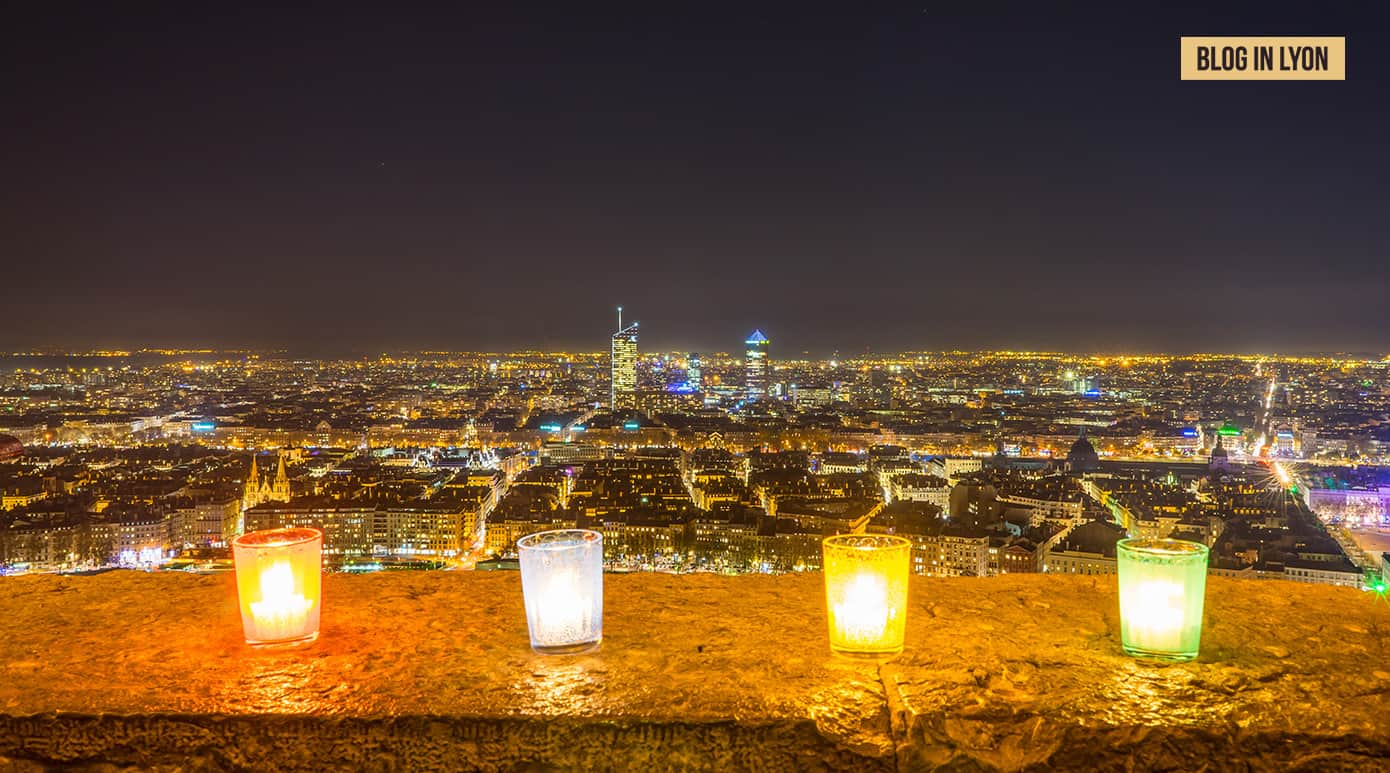 Fond écran Lyon - Fête des Lumières à Lyon   Blog In Lyon