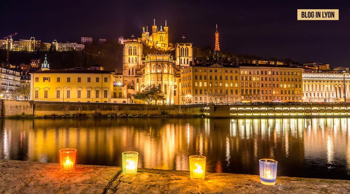 Spécial Fête des Lumières - Fond écran Lyon | Blog In Lyon