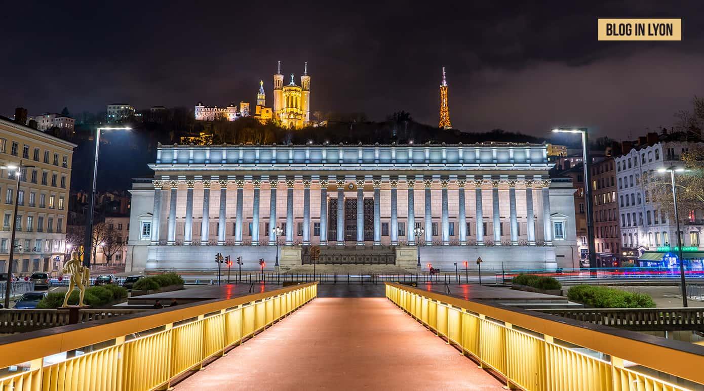 Fond écran Lyon - Palais de Justice Lyon | Blog In Lyon
