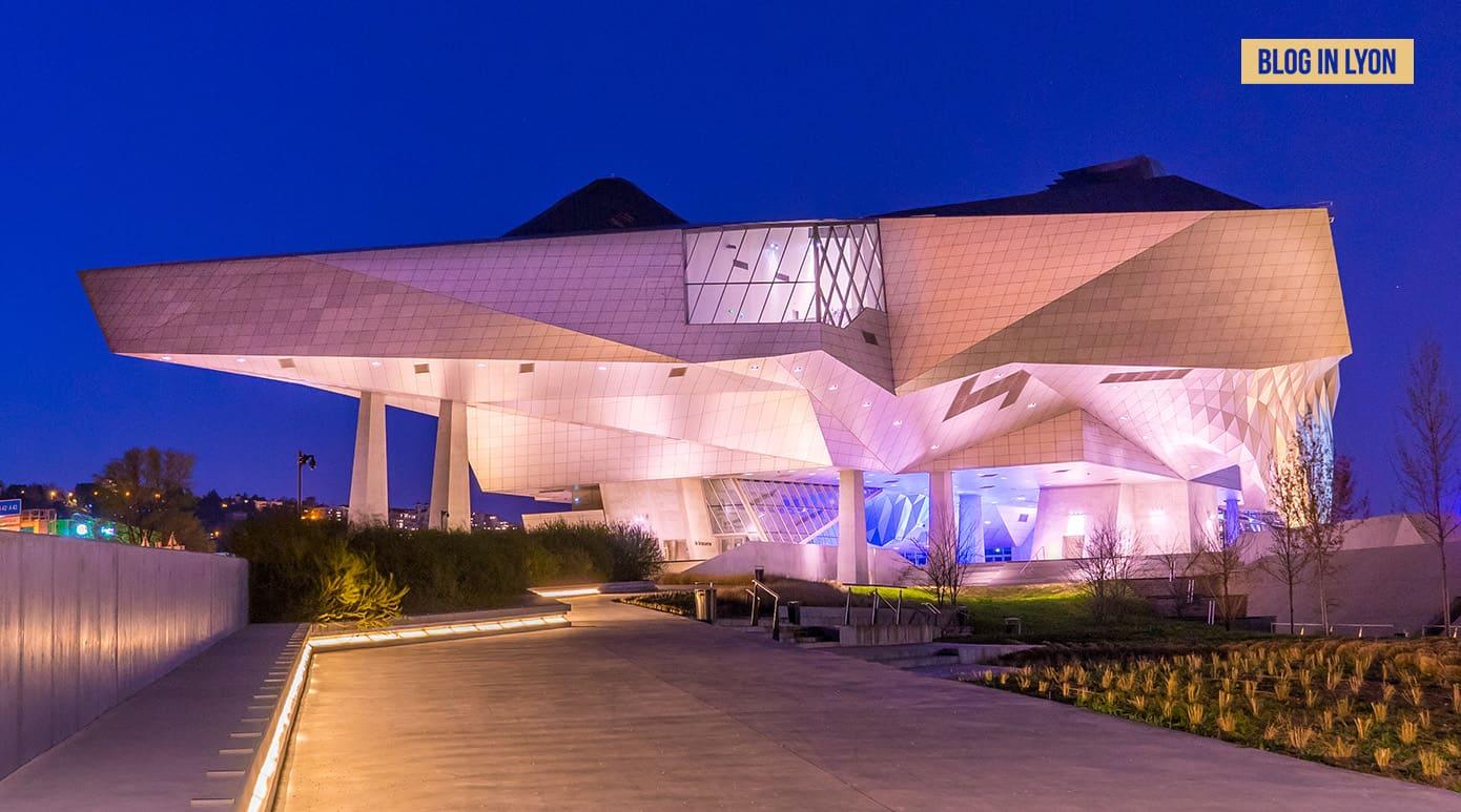 Le Musée des Confluences Lyon - Fond écran Lyon   Blog In Lyon