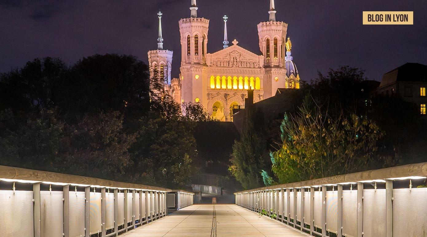 Fond d'écran Lyon – Fourvière Passerelle des quatre vents | Blog In Lyon