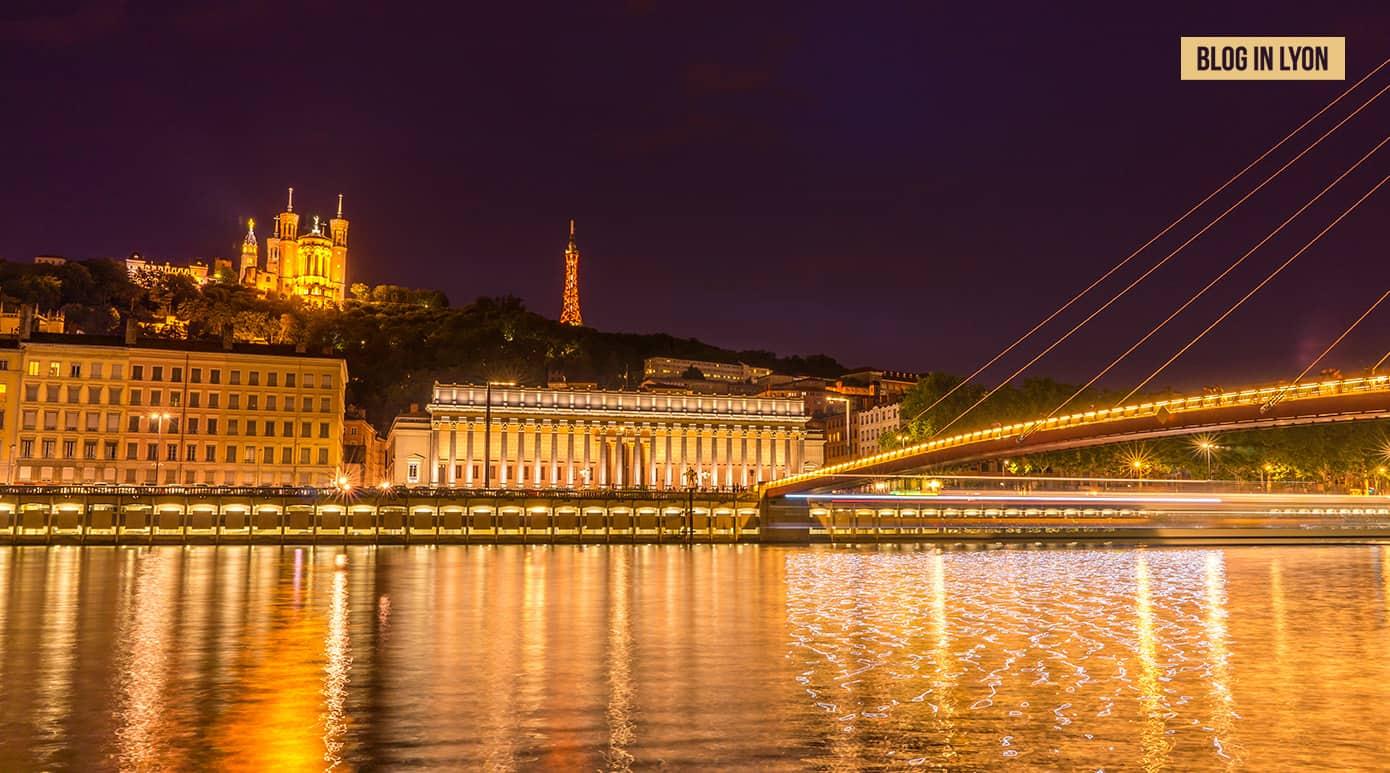 Palais de Justice des 24 colonnes – Fond d'écran Lyon | Blog In Lyon