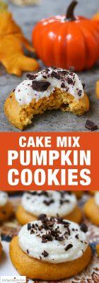Pumpkin-Cookie-Cake-Mix-Cookies-Recipe-Living-Locurto-Pumpkin-Spice-Pinterest