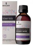 Siro trị sổ mũi cho bé Brauer Runny Nose 100ml