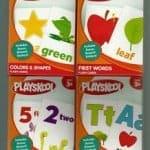 flash cards, playskool flash cards, playskool