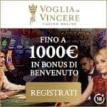 Voglia di Vincere Casino   bonus e promozioni, giochi, assistenza
