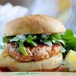 Grilled Salmon Burger - Easy Dinner Recipe
