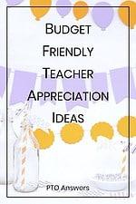 inexpensive teacher appreciation ideas