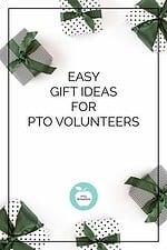 gift ideas for PTO volunteers and PTA volunteers