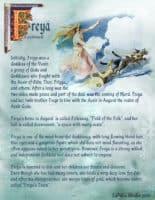 Goddess Freya information page 2