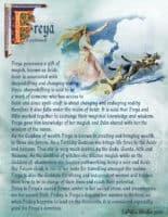 Goddess Freya information page 4
