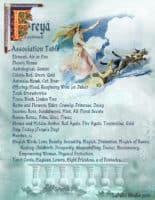 Goddess Freya information page 5