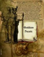 Pagan / Wiccan Goddess Hecate info page 1