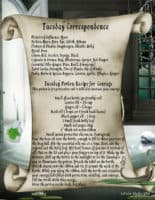 Tuesday Correspondence magick information page