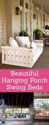 Beautiful Hanging Porch Swing Beds - Home Decorating Ideas