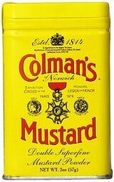 Colemans powdered mustard