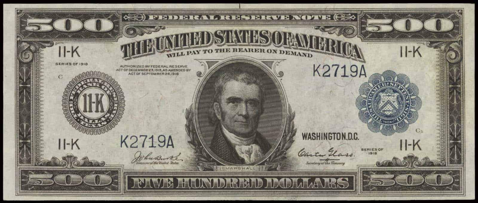 dollar 500