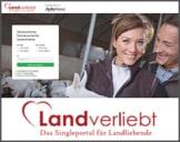 Landverliebt.de - Startscreen