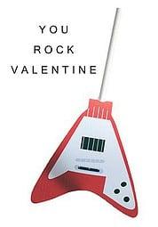 """You Rock"" Free Printable Valentine"