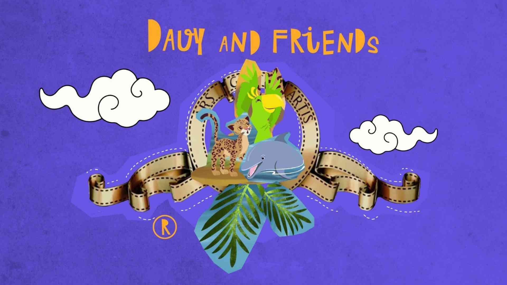 Davy & Friends - This is the trailer for the book
