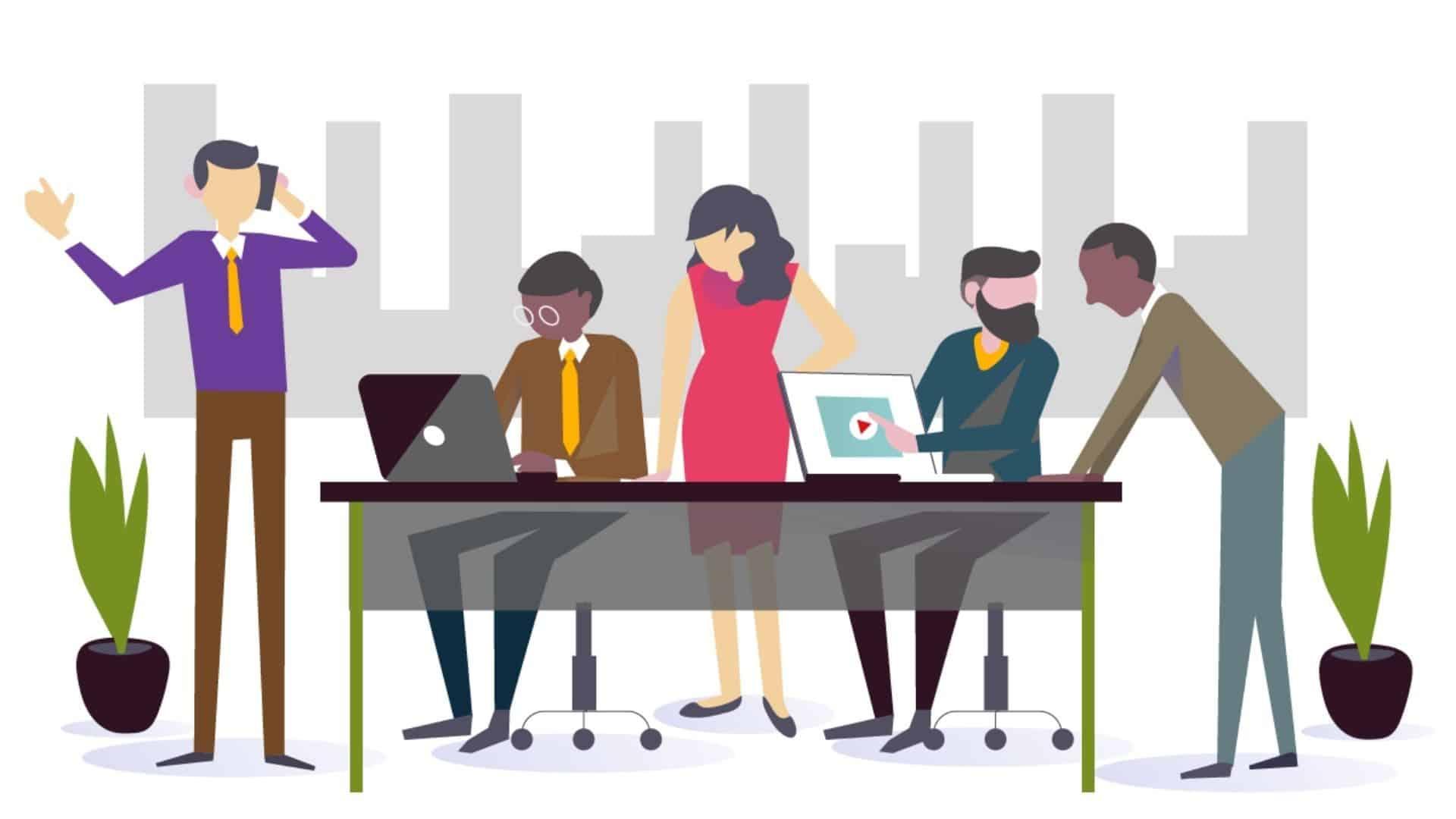 Corporate animated video