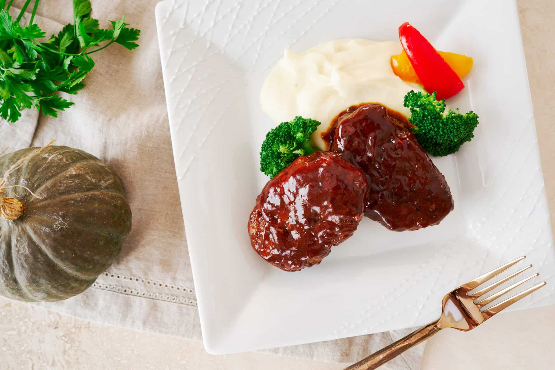 Hamburg Steak is one of the most popular home cooked meals in Japan and this easy recipe will show you how to make this juicy patty with a flavorful sweet and tangy sauce.